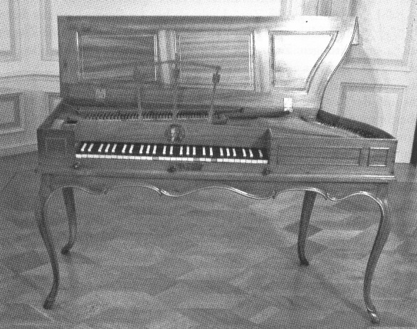 Square Piano by Ignatz Seuffert, 1764